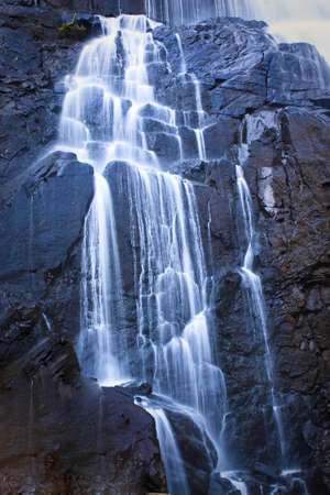 A small water fall in the south eand of australia photo
