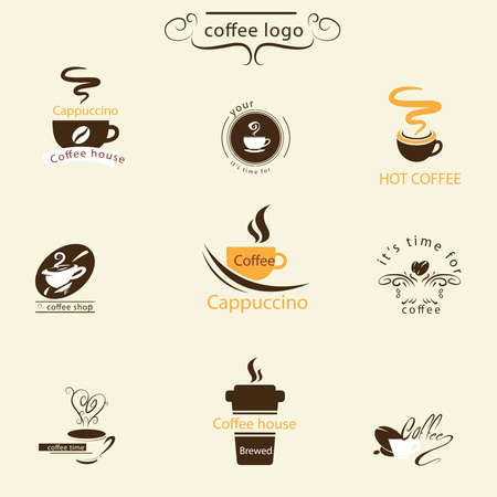 logo: Classic coffee logo pack