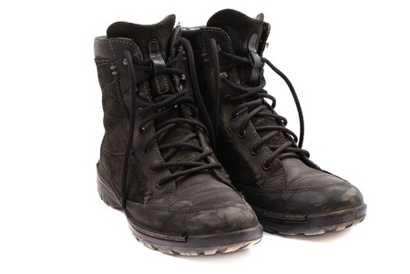 hillwalking: Rough leather footwear for work and productive leisure. Protection of feet in difficult conditions.