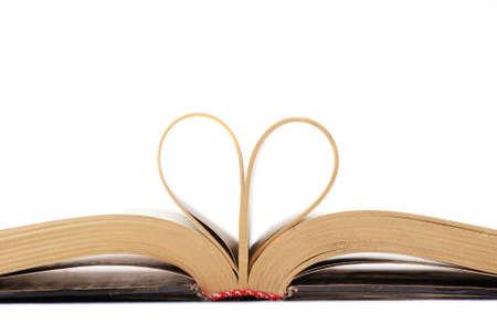 overturn: Libri, che � possibile leggere e rovesciare le pagine. Archivio Fotografico
