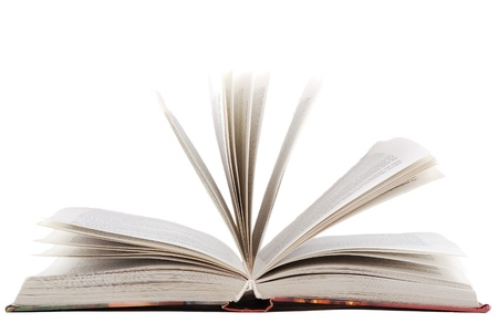 overturn: Books, which it is possible to read and overturn pages. Stock Photo