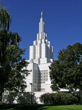 mormon: Mormon Temple in Idaho Falls