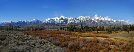 teton: Teton montagne panorama