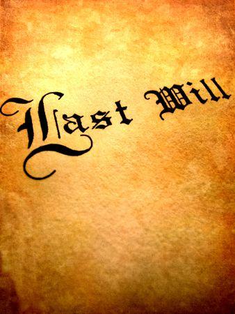 testament: Envolvente con Last Will and Testament