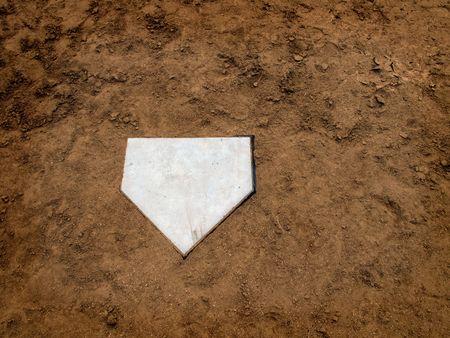 Homeplate in Baseball Imagens - 7622597