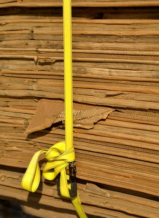 Stack of Cardboard for packing or recycling Stock Photo - 17531174