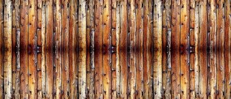 Gros plan détaillé de clôture en bois vieux Banque d'images - 17670633