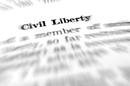 Definition of civil liberty law in dictionary