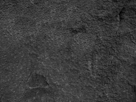 roughness: Detail of black rock texture and roughness