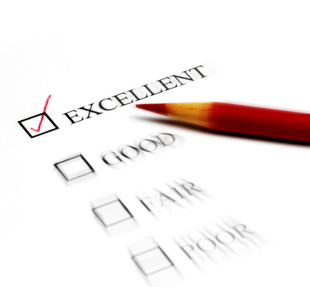 Checklist of Options from Excellent to Poor