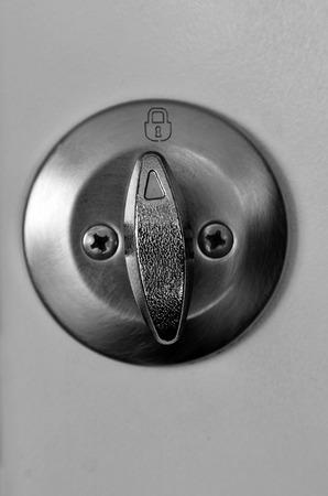 Solid and Secure Lock for Door deadbold or doorknob security photo