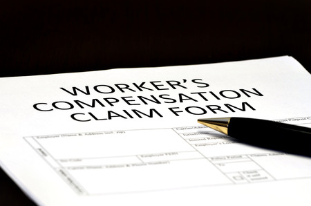 Worker's Compensation Claim form for Comp on Injury employment