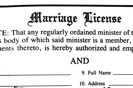 marriage certificate: Marriage certificate form application to be married legally