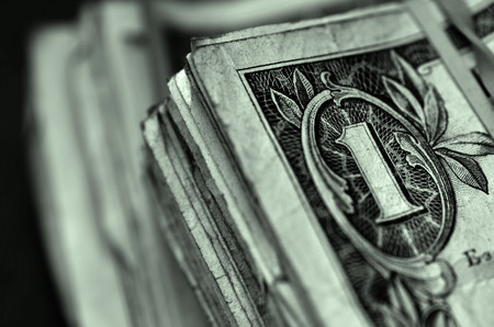 represented: Wealth and Riches represented by American currency and bills