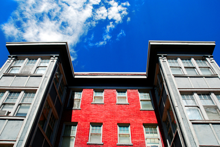 rentals: Windows and Sky of Apartment Building Rentals Lease Tenant Landlord