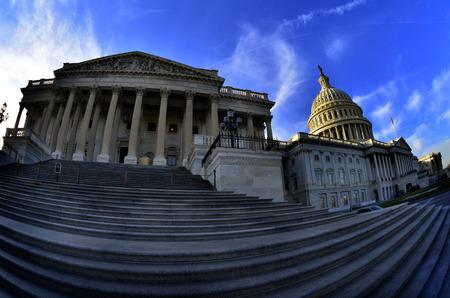 public building: Capitol Building for United States in Washington DC public building