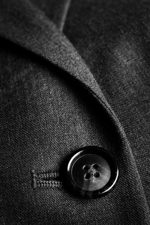 businessman suit: Closeup of suit buttons for business or formal wear