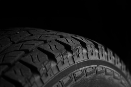 retreading: Vehicle tire for car or truck good tread for safety