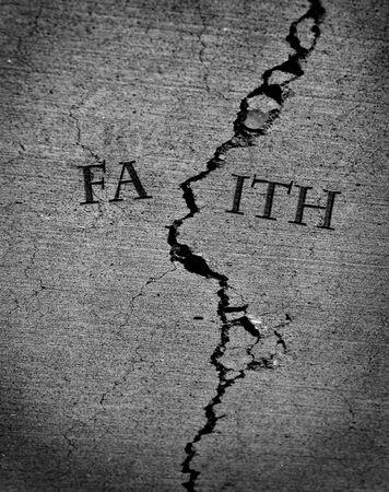 Broken faith lost religion