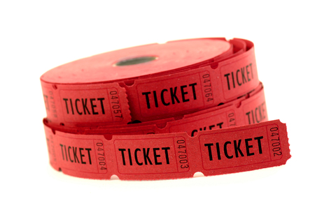 Tickets used for entrance into an event or entertainment