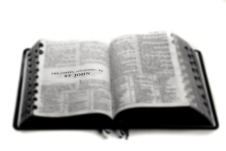 Pages from Bible holy word spiritual religion