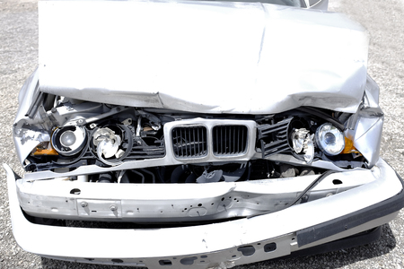 Wrecked Car Crash Crashed Accident Smashed