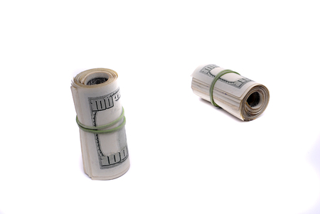 Cash money american dollars representing investments for wealth and riches 写真素材