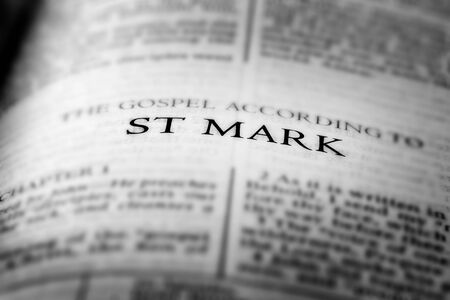 Bible New Testament Christian Teachings Gospel St Mark Saint