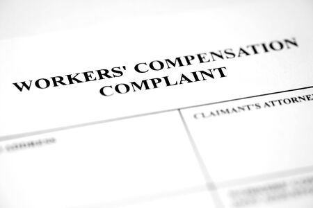 Workers Compensation Complaint Form Injury Payment