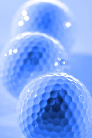 Golf Ball for sports and recreation to be healthy athletics closeup close up macro detail