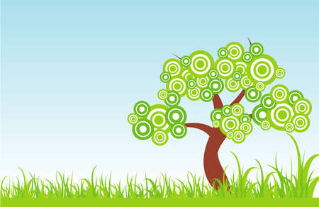 arbre de l'illustration
