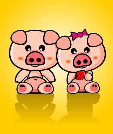 Mignon de porc Vector