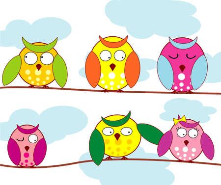 Owl Stock Vector - 4753531