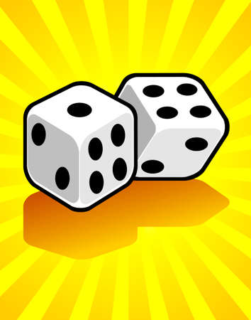Casino r�sum� Deux d�s rendu