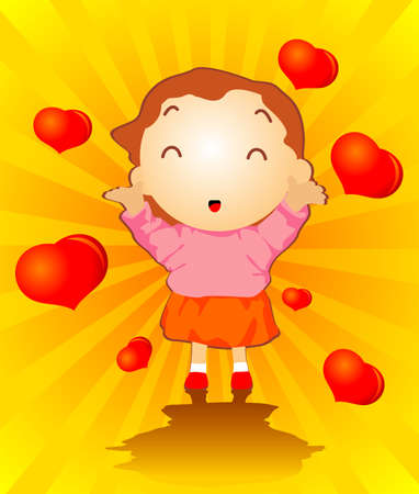 Cute Cartoon Mother Vector