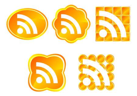 Symbole RSS Illustration