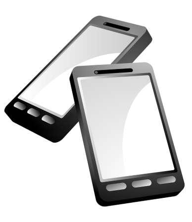 PDA Phone Vector