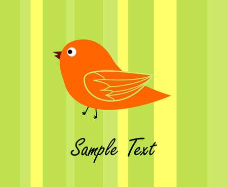 simple bird design Stock Photo