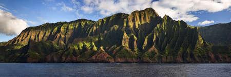 Rugged Na Pali Coast located on Kauai, Hawaii, USA. photo