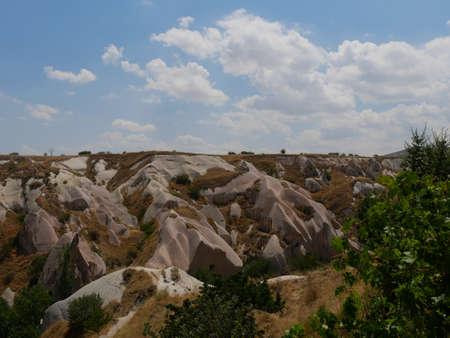 Special terrain landscape of Turkey