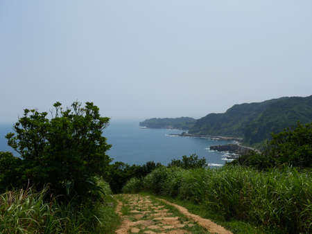 Ruifang Nanzijing Trail Sea View 版權商用圖片