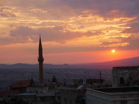 Sunset in Kabadokia, Turkey