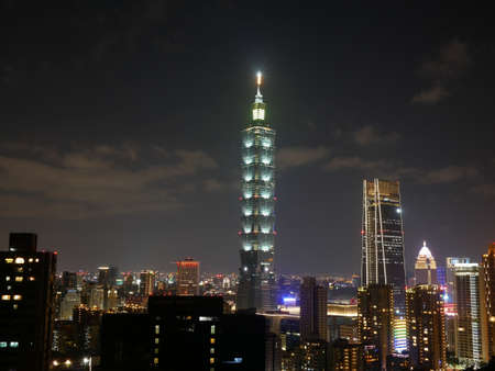 Night view of Taipei