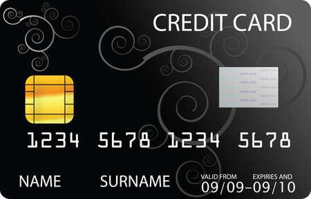 carte de crédit noire