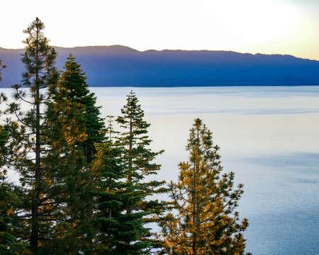 Lake Tahoe Sunrise Color Dl Bliss State Park