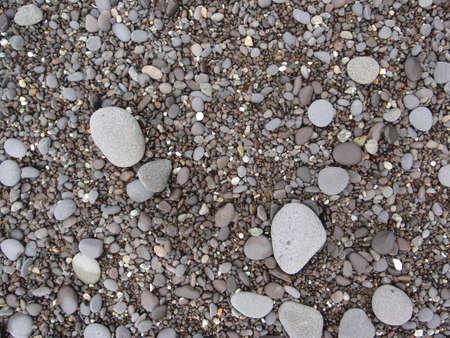 tumbled: Rocks and Pebbles, Punta Banco, Costa Rica  Stock Photo