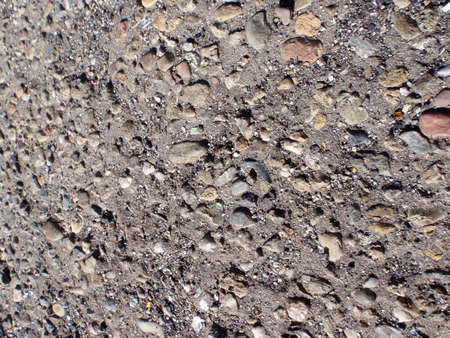 different colored Rocks in Cement in San Francisco, good for backrounds or patterns Stock Photo - 7333997