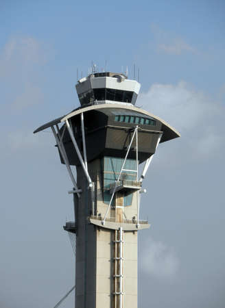 lax: Air Traffic Control Tower at LAX, Los Angeles  Stock Photo