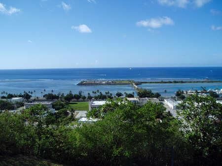 Guam Southern Coast Archivio Fotografico