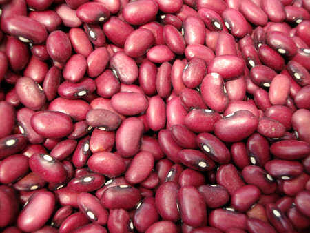 close up of lots Kidney Beans background pattern  photo
